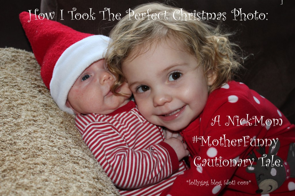 #MotherFunny Holiday Christmas Photo #NickMom #shop