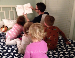 pj reads to kids
